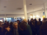 over 400 people at the vernissage!